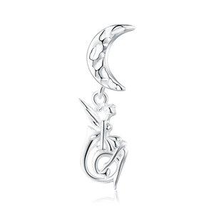 Talisman din argint Moon Fairy