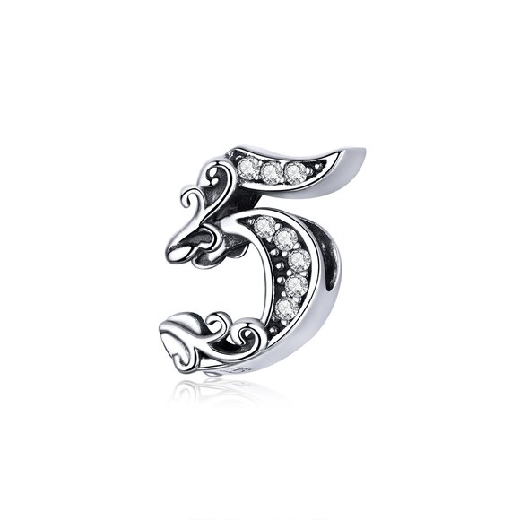 Talisman din argint Number 5
