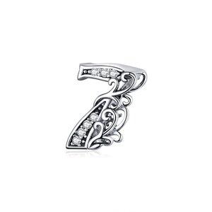 Talisman din argint Number 7