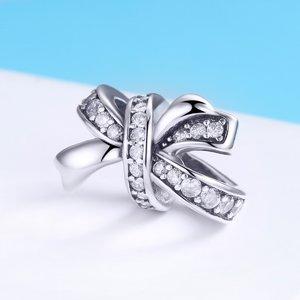 Talisman din argint Perfect Ribbon