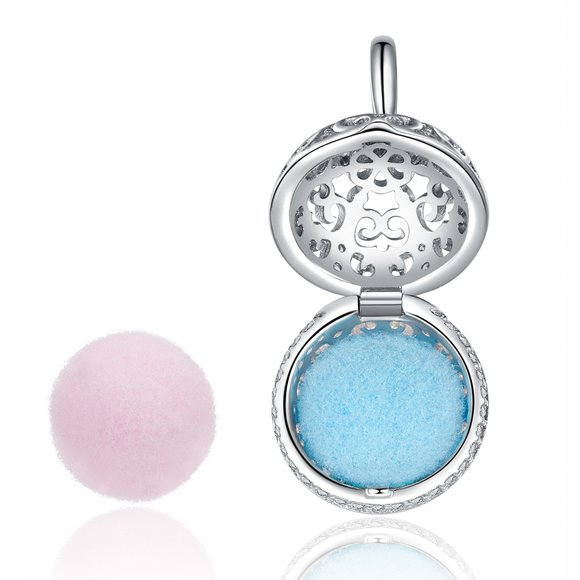 Talisman din argint Perfumed Locket