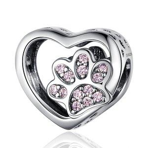 Talisman din argint Pinky Paw
