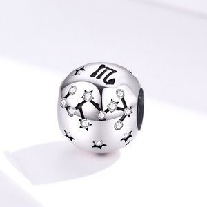 Talisman din argint Scorpio Constellation
