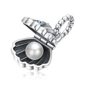 Talisman din argint Shell Pearl