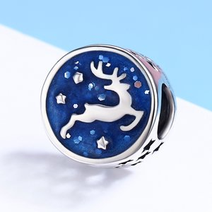 Talisman din argint Silver Deer