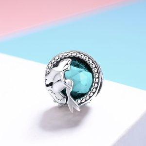 Talisman din argint Silver Glass Mermaids