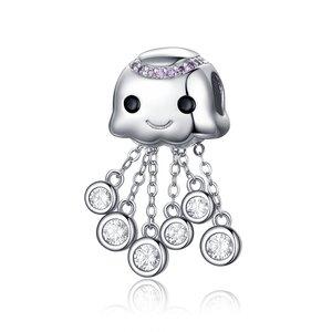 Talisman din argint Silver Octopus
