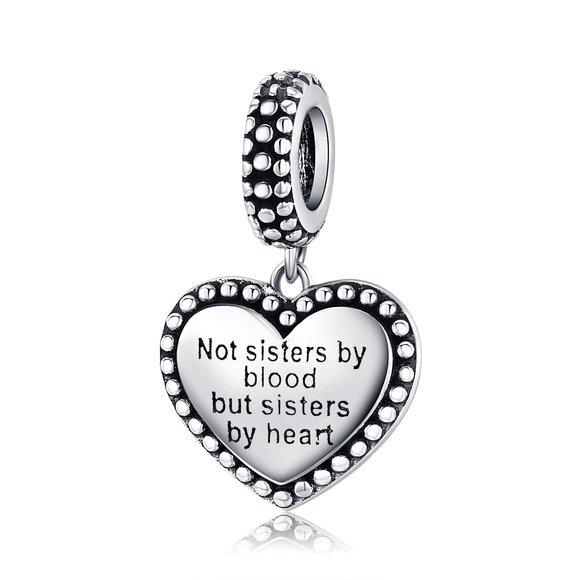 Talisman din argint Sisters by Heart