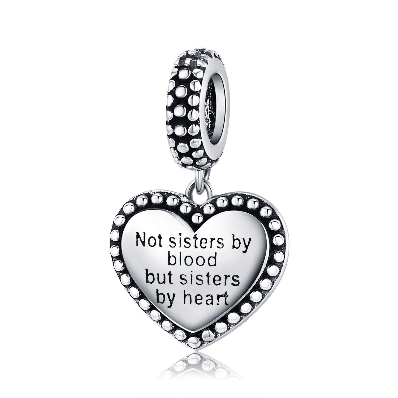 Talisman din argint Sisters by Heart poza 2021