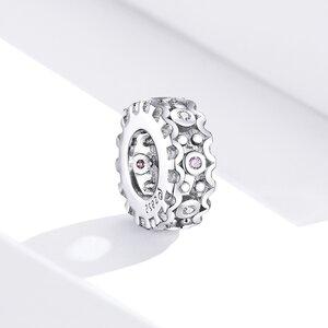 Talisman din argint Sparkling Stoned Wheel