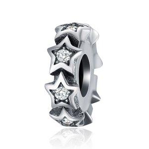 Talisman din argint Star Spacer