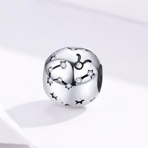 Talisman din argint Taurus Constellation