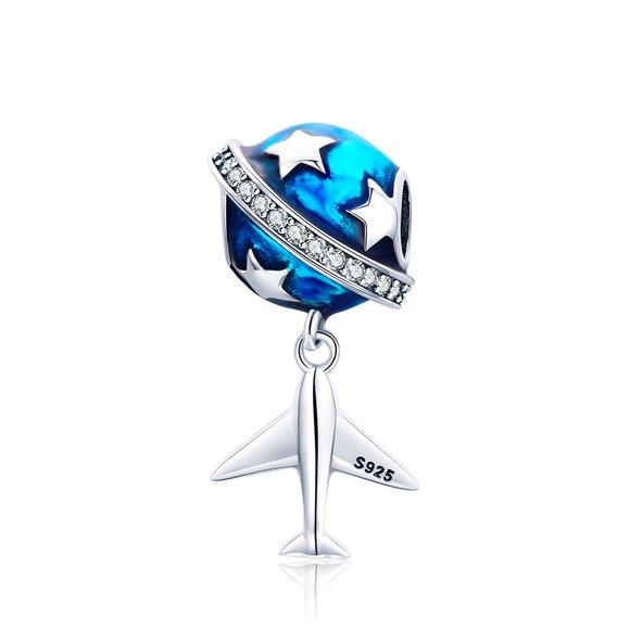 Talisman din argint Travel Wish