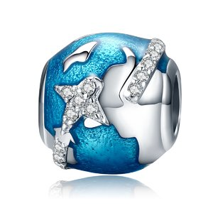 Talisman din argint Traveling the World