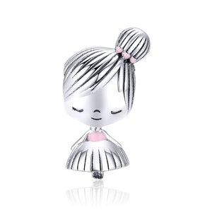 Talisman din argint Valentine Girl