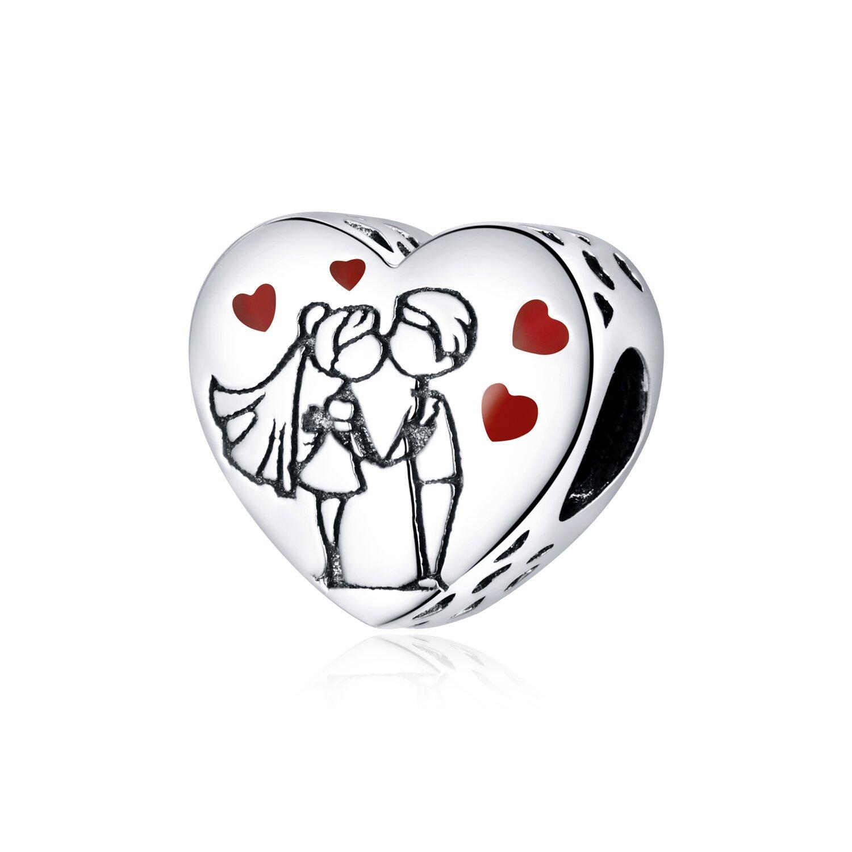 Talisman din argint Wedding Couple