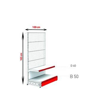 RAFTURI MET RM-06 PERFORAT Înălțime-165, Lățime-100cm