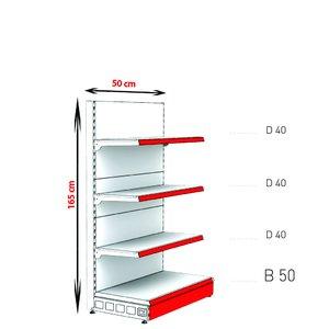 RAFTURI METAL RM-02 Înălțime-165, Lățime-50 cm