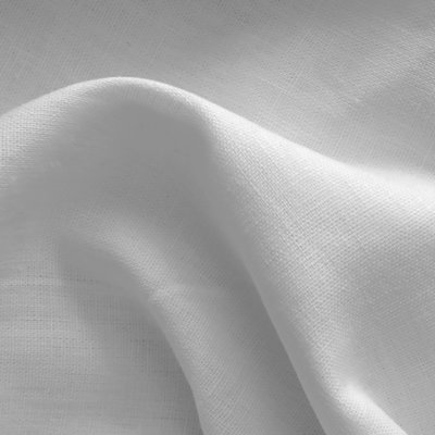 100% Premium Linen - Pearl Grey