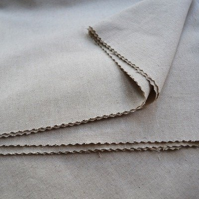 Linen-Cotton Blend Traditional plain weaved fabric