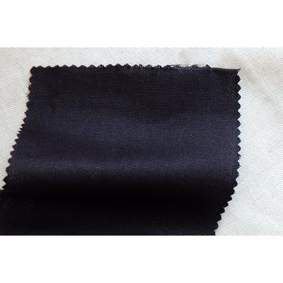 Traditional plain weaved fabric - Black
