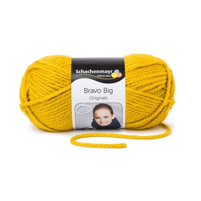 Acrylic Yarn-Bravo Big-Gold 00122