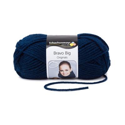 Acrylic Yarn-Bravo Big-Indigo