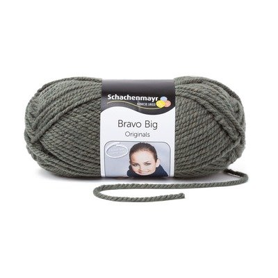Acrylic Yarn-Bravo Big-Olive