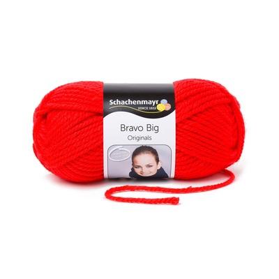 Acrylic Yarn-Bravo Big-Red