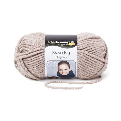 Acrylic Yarn-Bravo Big-Sand 00106