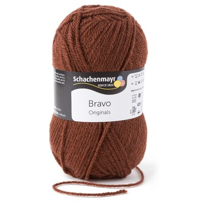 Acrylic yarn Bravo- Brown