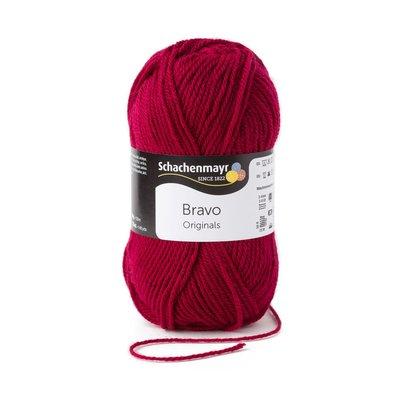 Acrylic yarn Bravo-Burgundy