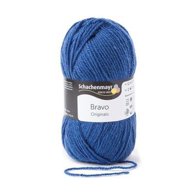 Acrylic yarn Bravo- Colbalt