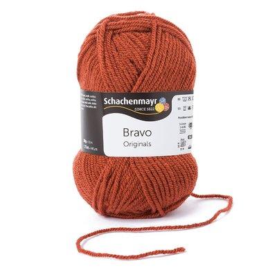 Acrylic yarn Bravo- Marsala