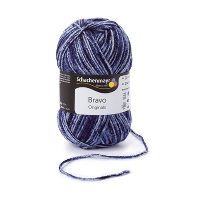 Acrylic yarn Bravo- Navy Denim