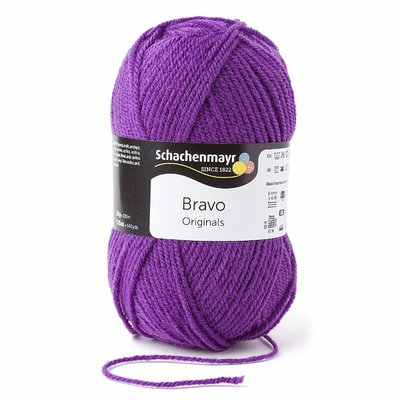 Acrylic yarn Bravo- Purple