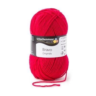Acrylic yarn Bravo - Ruby