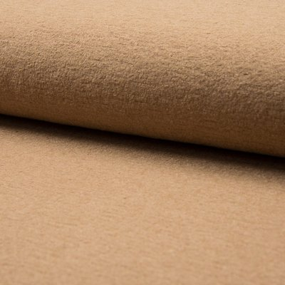 Boiled Wool Fabric - Camel