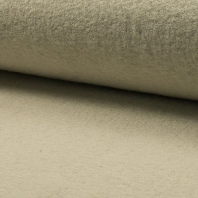 Boiled Wool Fabric - Ecru