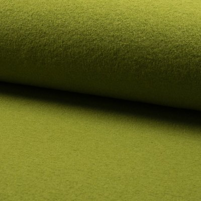 Boiled Wool Fabric - Kiwi