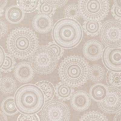 Canvas Linen Look - Mandala