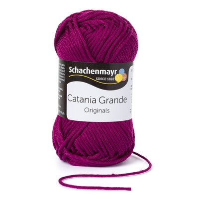 Cotton Yarn - Catania Grande Plum 3128