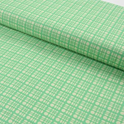 Clementine-Dot Weave-Turquoise