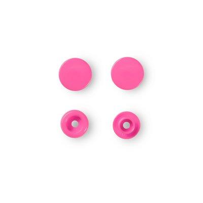 Color Snaps - Pink - 30 pcs