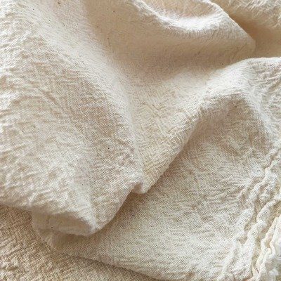 Cotton Gauze Fabric - Catrina Natur