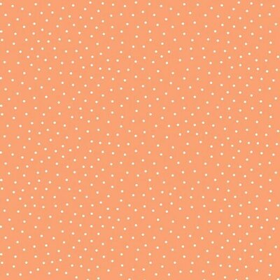 Cotton Jersey - Dotty Peach