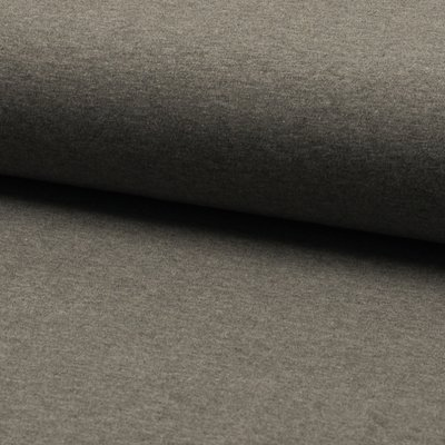 Cotton Jersey Solid - Mid Grey Melange