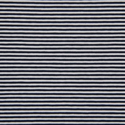 Cotton Jersey - Stripes navy 0.3 cm