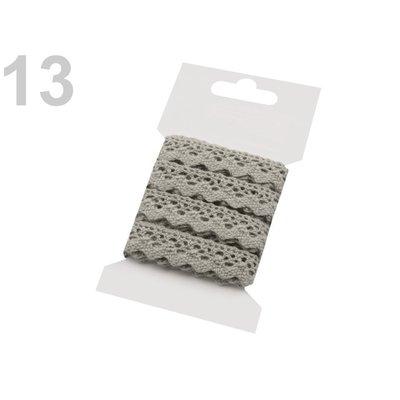 Cotton lace 15mm - 3m card