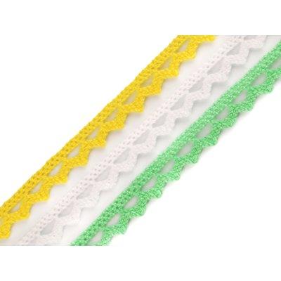 Cotton lace width 10 mm - 5m bobbin